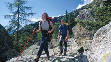 24-Stunden-Wanderung mit Hans Kammerlander