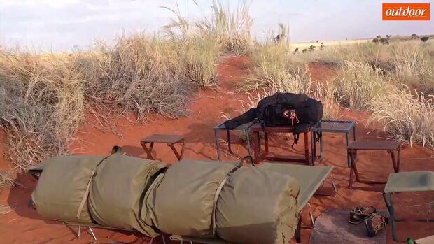 Abenteuer Namibia: Bilder vom Wüsten-Trekking