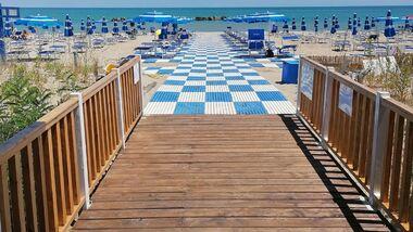 Abruzzen Italien Strand Adria