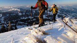 Abseits der Pisten -Skitouren