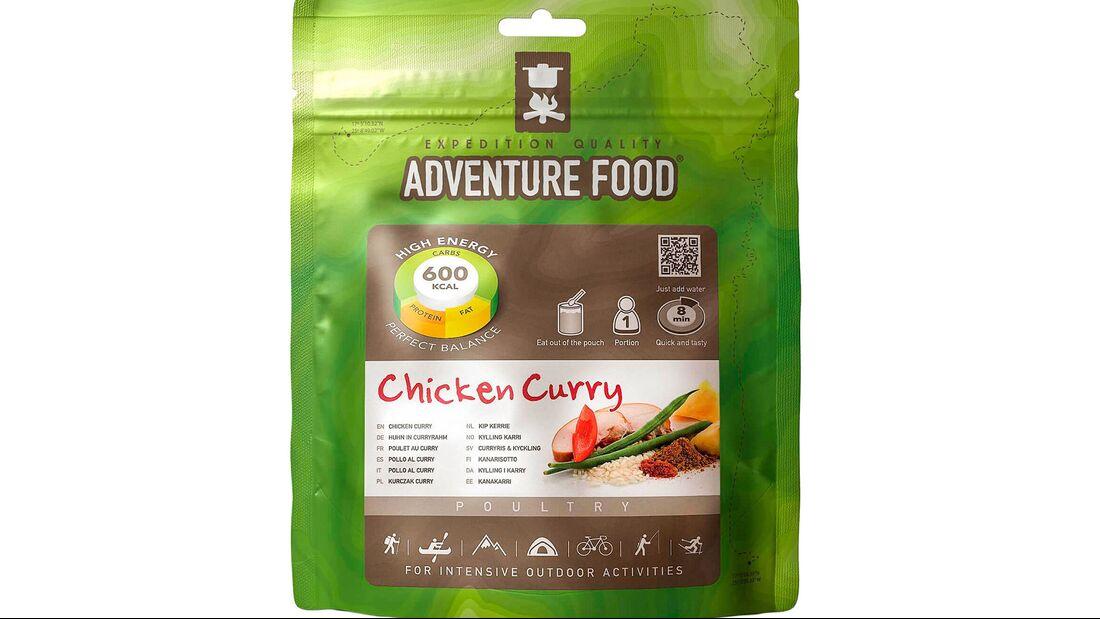 Adventure Food Chickencurry Reisgericht