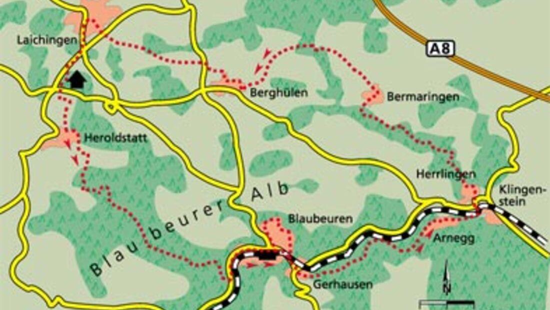 Alb Tour 3 Karte
