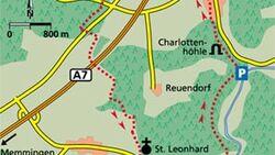 Alb Tour 4 Karte