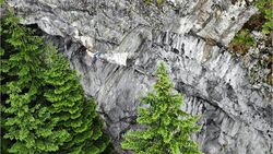 Alfons Dornauer klettert Synergieeffekt 8c+ im Ötztal