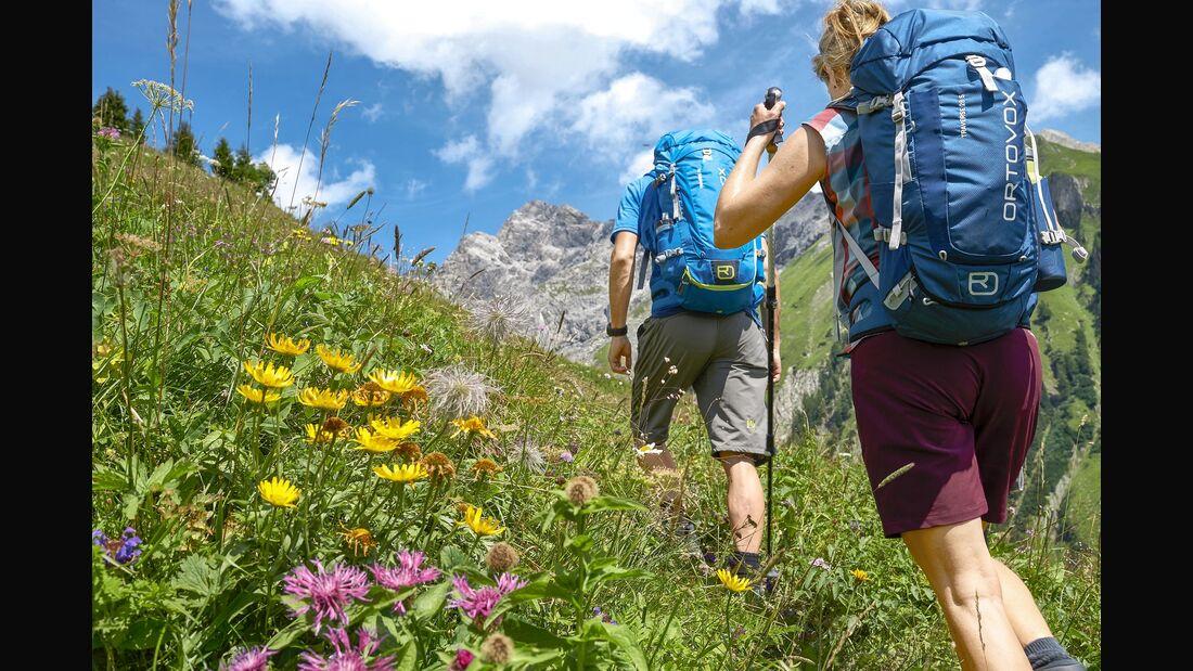 Alpen Frühling Wandern