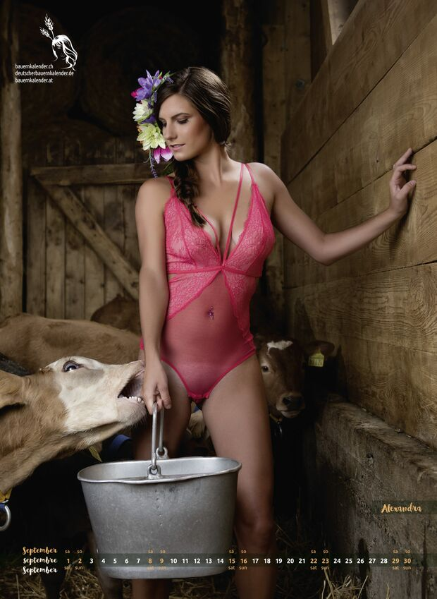 Alpengirls Milk & Cheese Kalender 13