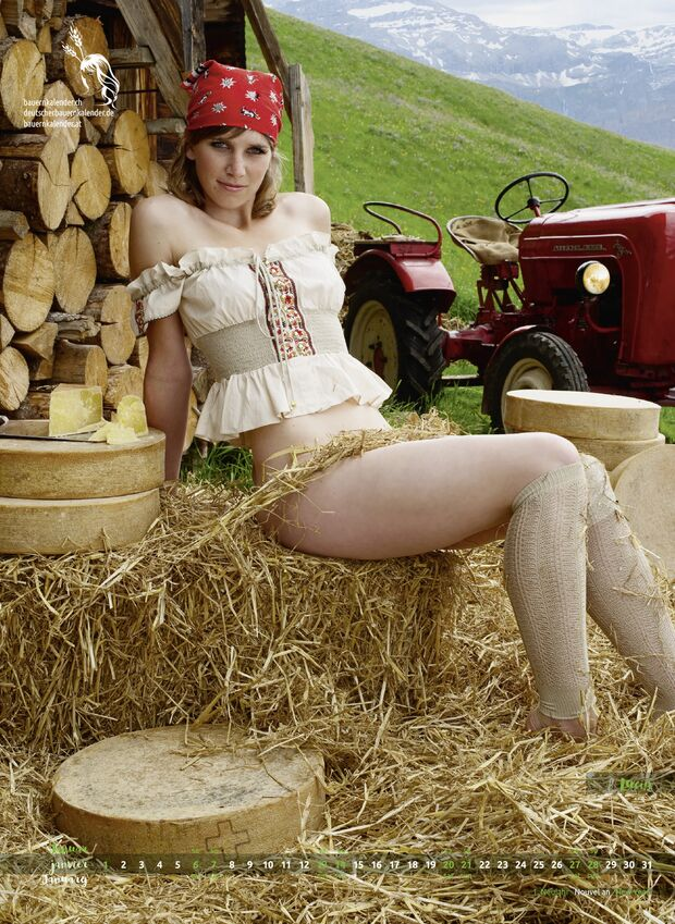 Alpengirls Milk & Cheese Kalender 5
