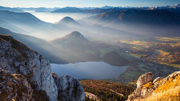 Altausseersee, Ausseerland, im steirischen Salzkammergut