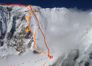 Annapurna Routenverlauf