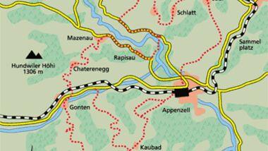 Appenzell Tour 3 Karte