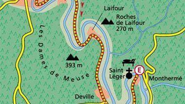 Ardennen Tour 3 Karte