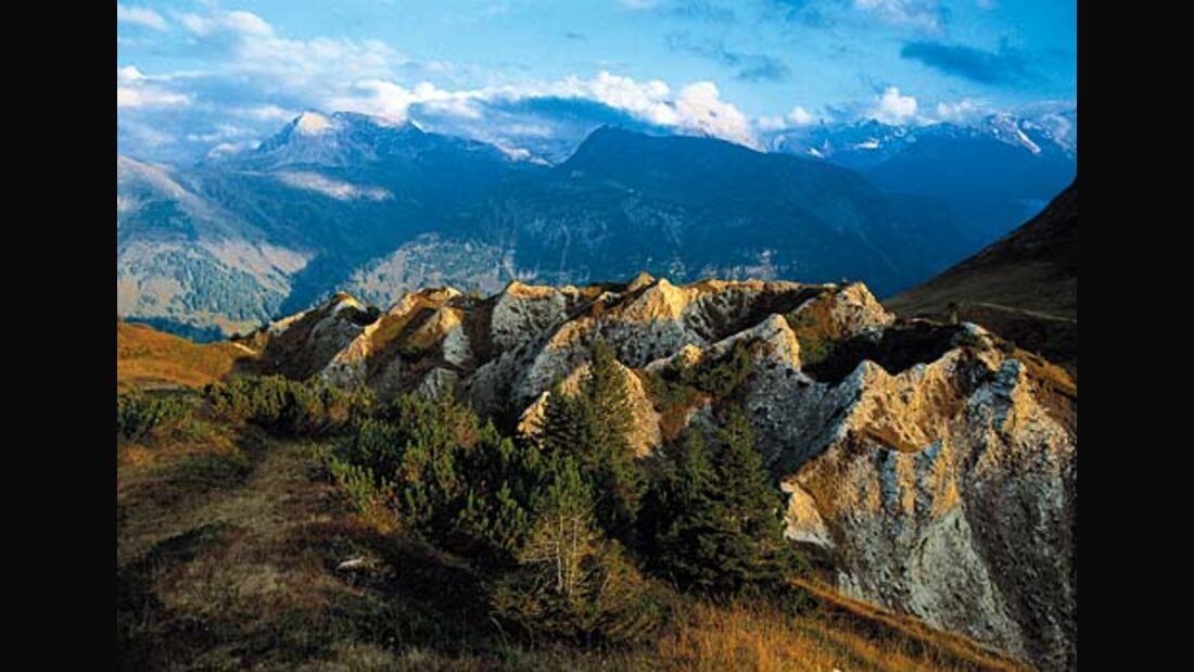 Arlberg-Gebiet