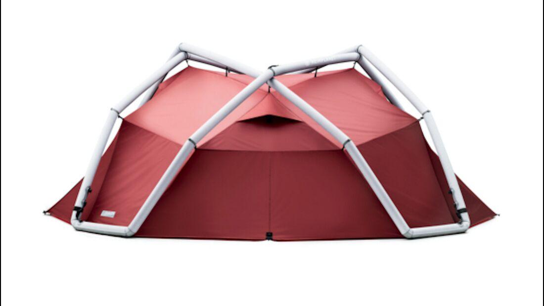 Aufblasbare Zelte, kleine und große Zelte