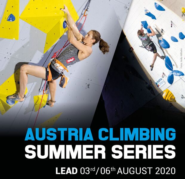 Austria Climbing Summer Series Lead Plakat