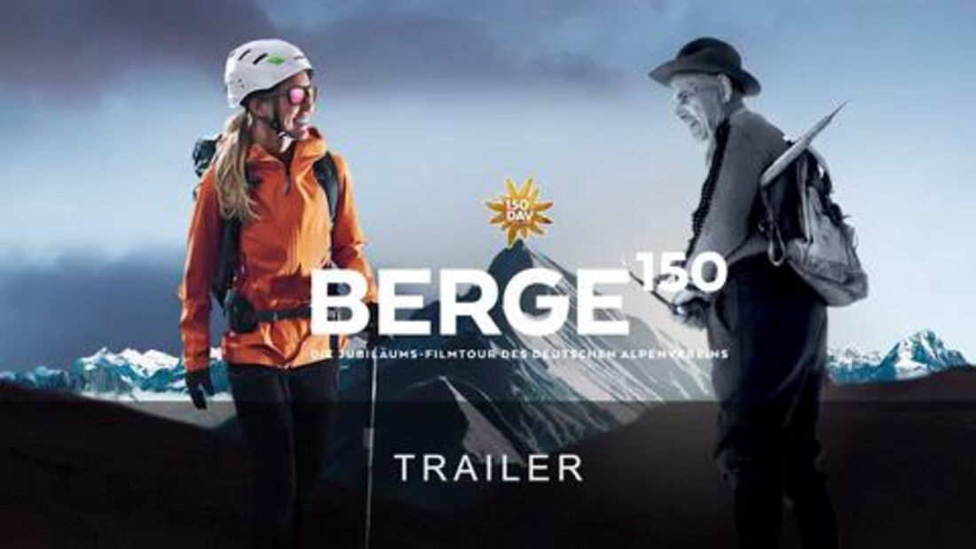 BERGE 150 - Trailer zur DAV-Filmtour 2019