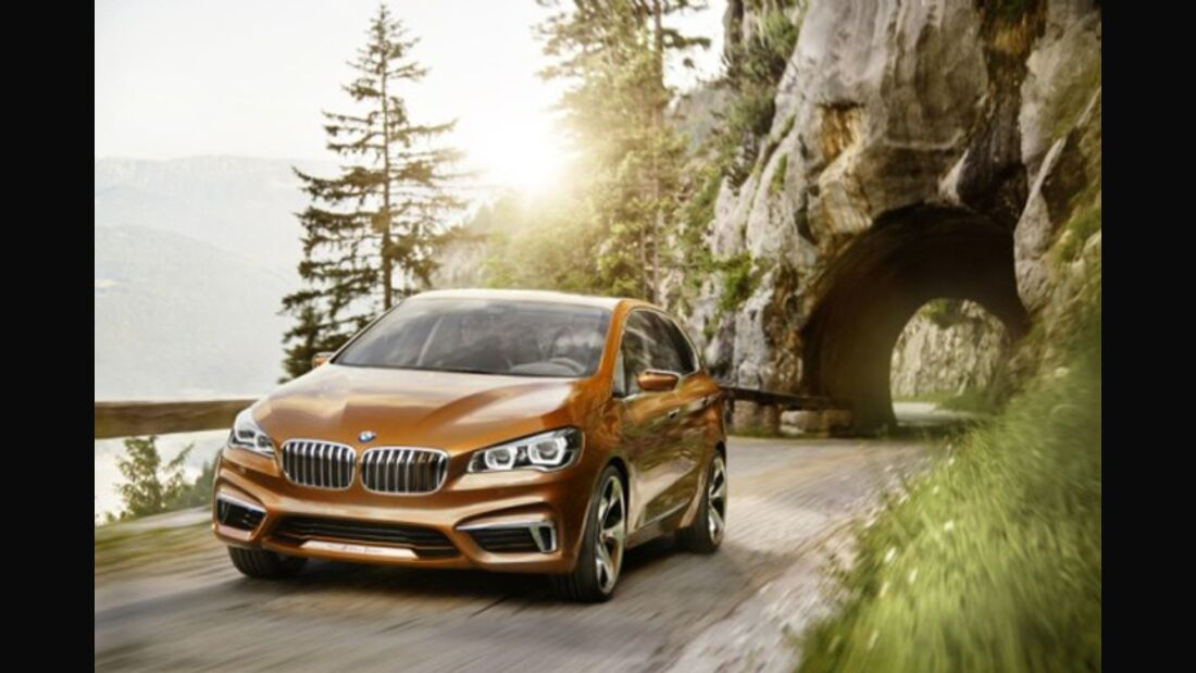 BMW Concept Active Tourer Outdoor - Bilder 3