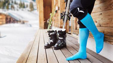 Bauerfeind Kompressionssocken für Skifahrer