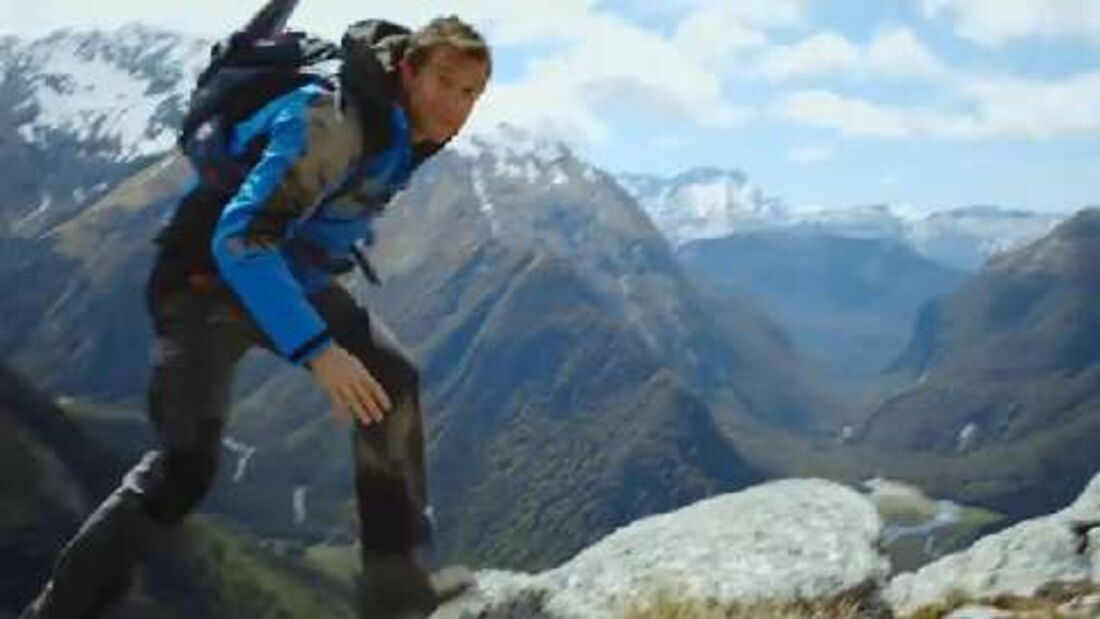 Bear Grylls Sicherheitsvideo für Air New Zealand