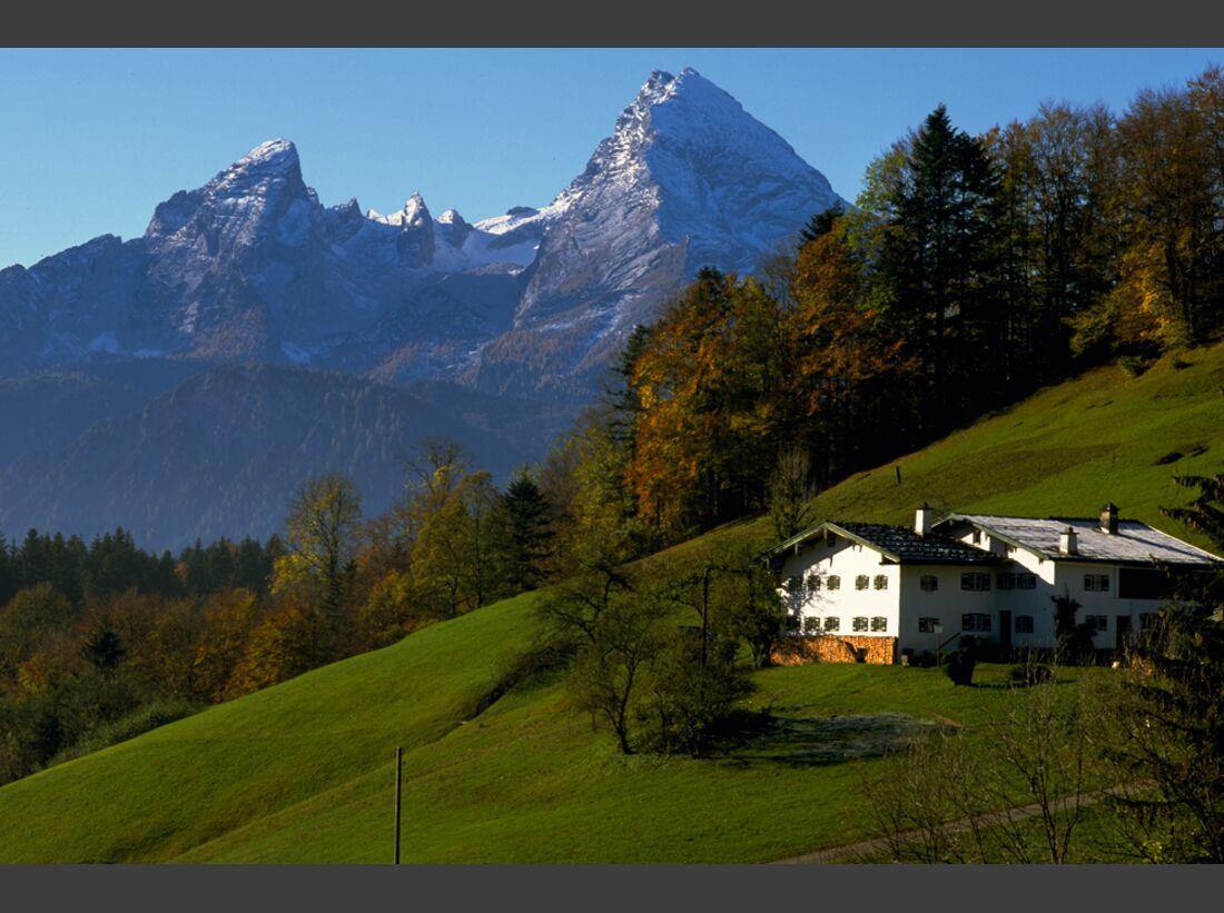 Berchtesgadener Land Watzmann