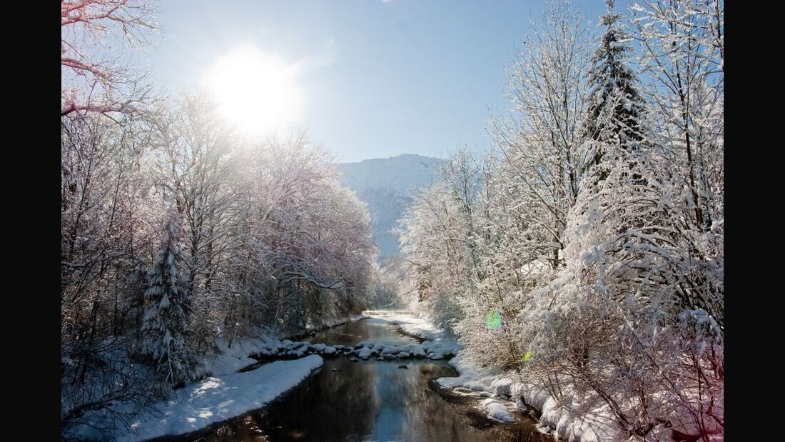 Biathlon, Rodeln, Wandern - Ruhpolding im Winter 4