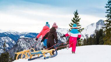 Biathlon, Rodeln, Wandern - Ruhpolding im Winter 8