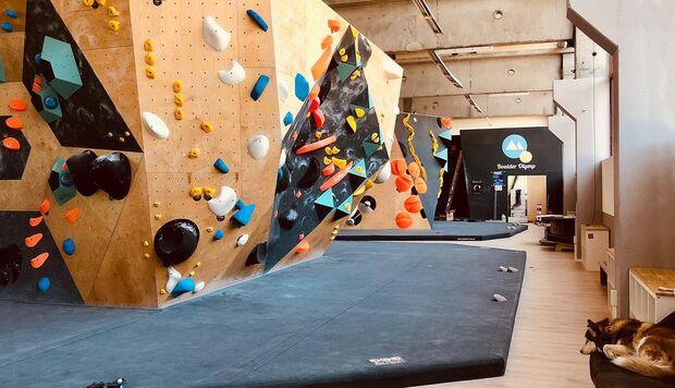 Boulder-Olymp, Boulderhalle Saarland