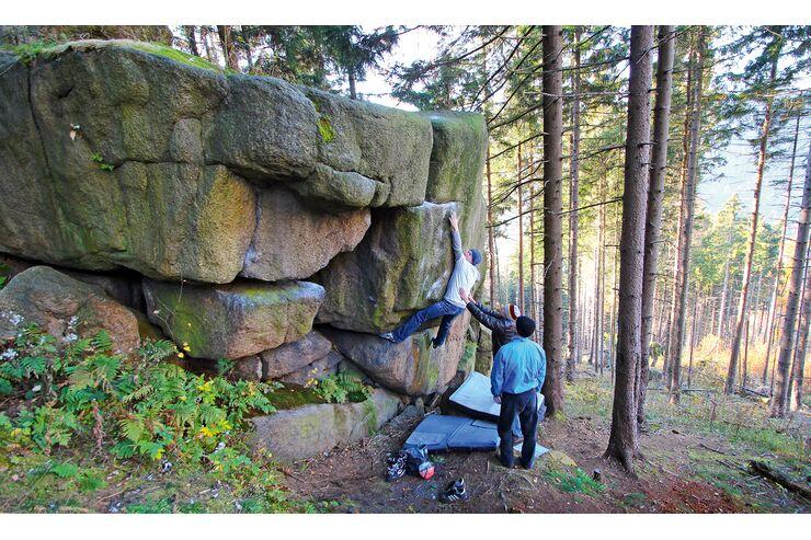 Deutsche-Bouldergebiete-Bouldern-im-Harz