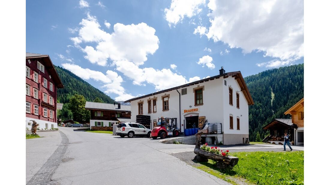Brauerei Monstein, Graubünden, Schweiz
