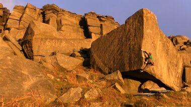 British Bouldering Stanage