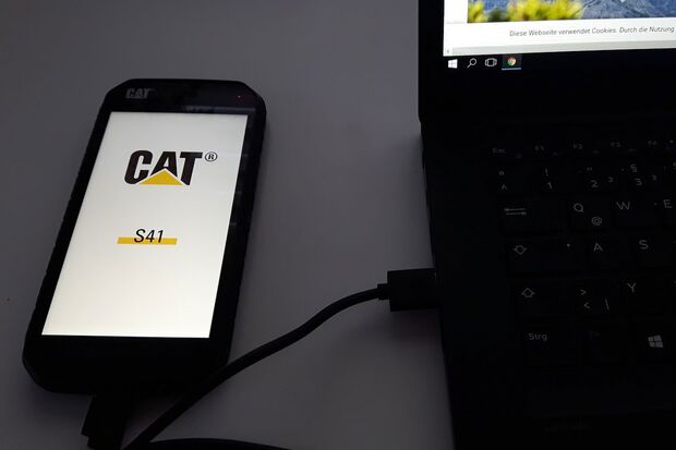CAT S41 Smartphone Test