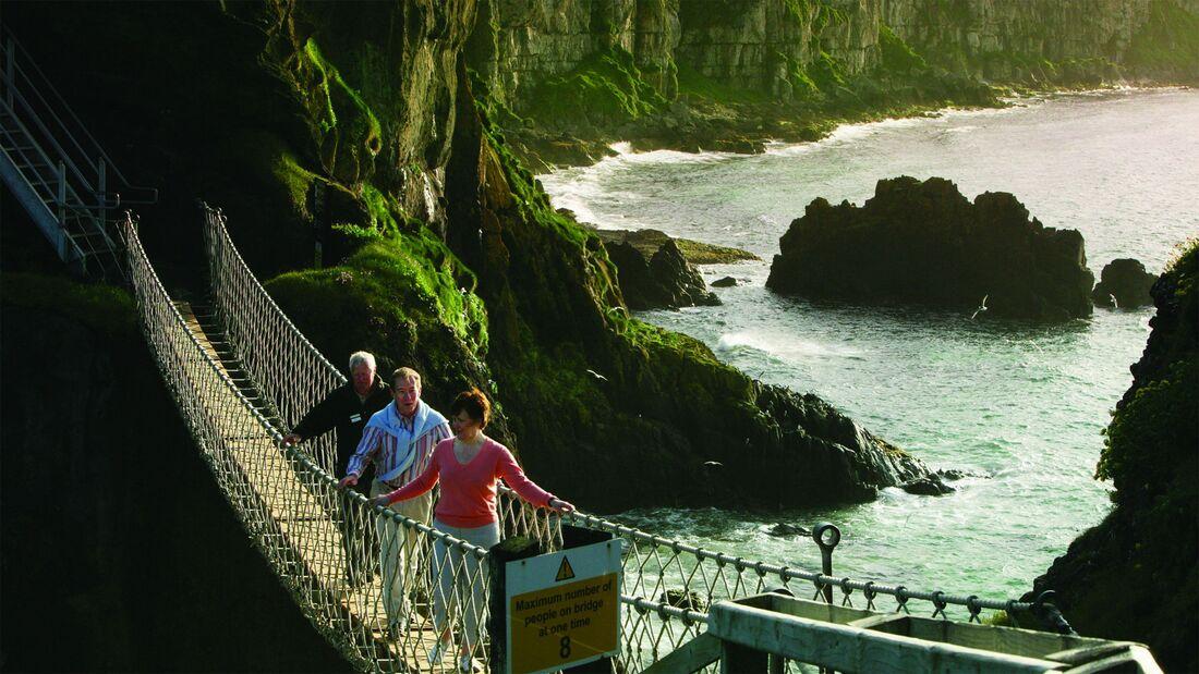 Carrick a Rede, Hängebrücke, Irland