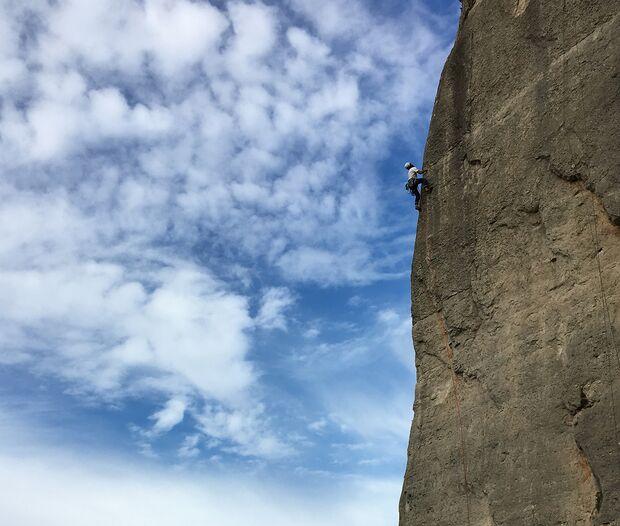 Comeback nach Kletterpause