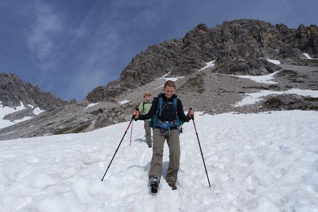 Daniela auf Alpencross mit dem Mammut Crea Pro 11