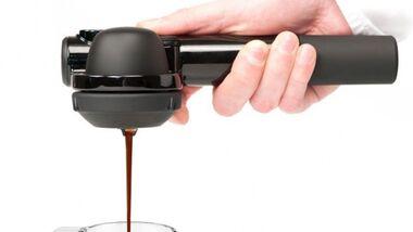 Der neuste Schrei: Espressomaschine für Outdoorer