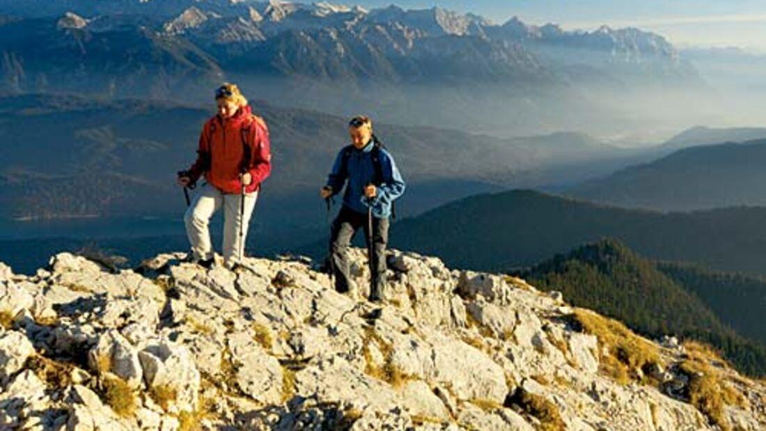 Deutsche Alpen: Unterwegs auf dem Maximiliansweg