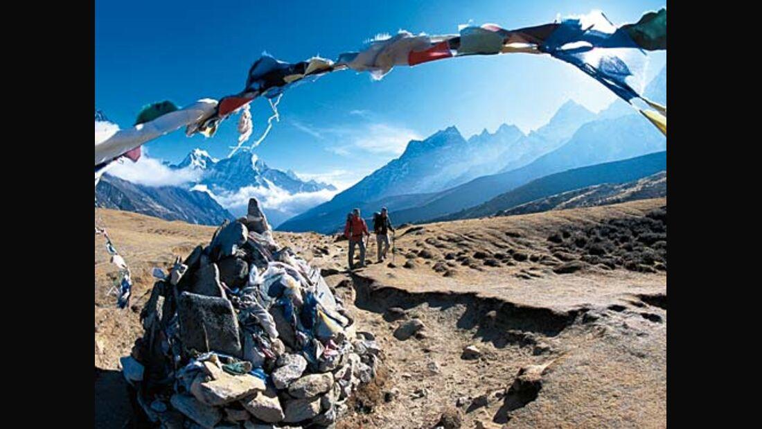 Die fünf schönsten Treks in Nepal