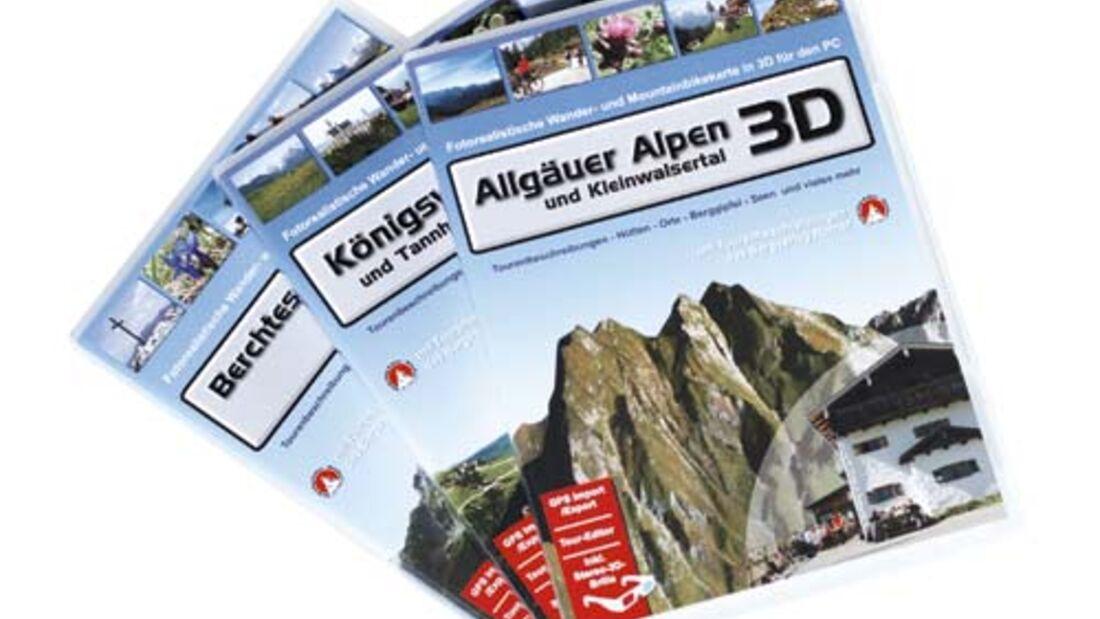 Digitale Tourenplanung in 3D-Format