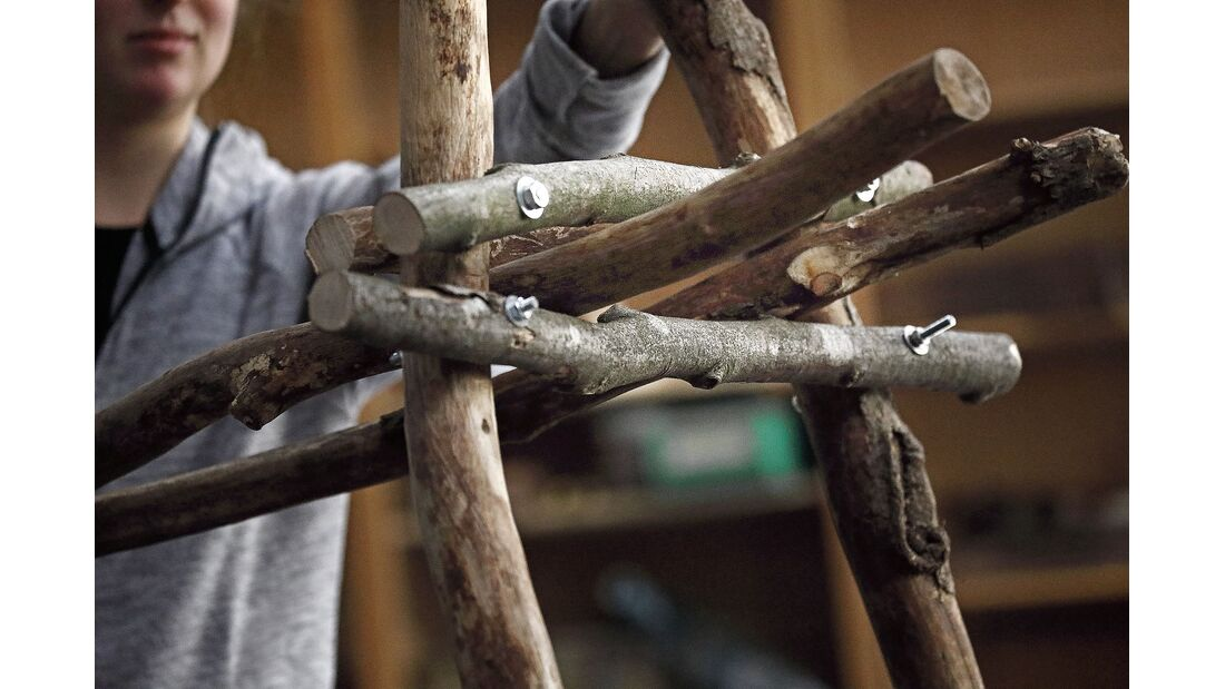Do it yourself Campingstuhl aus Holz