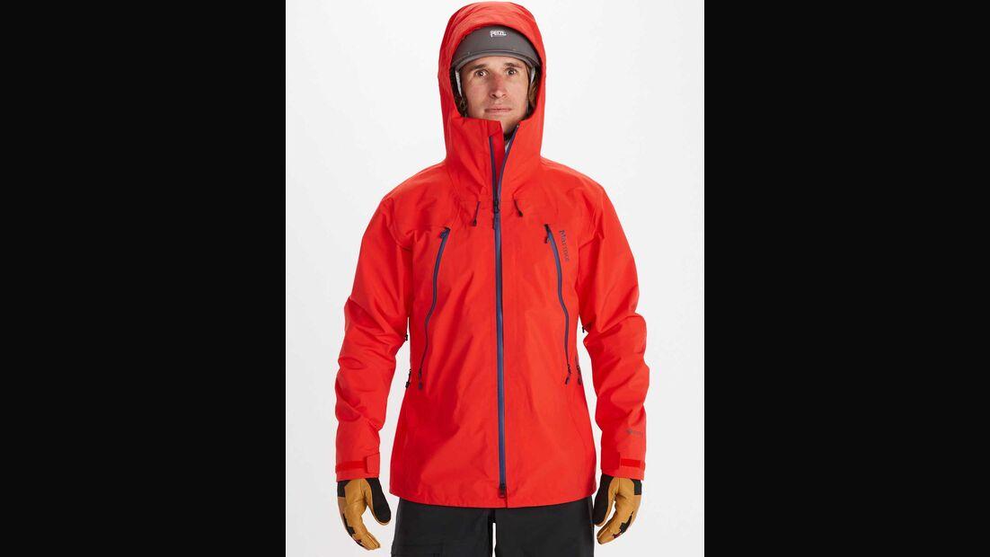 Dreilagenjacken Test 11/2020, Marmot Alpinist