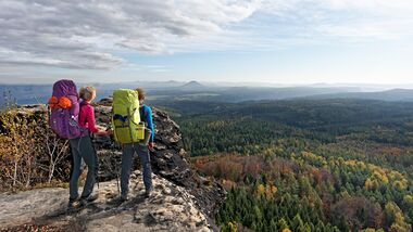 Elbsandsteingebirge - Forststeig - Wandern
