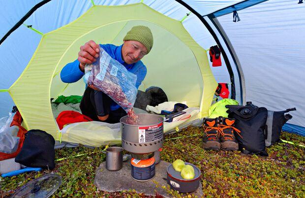 Ernährung auf Tour - Trekkingmahlzeit