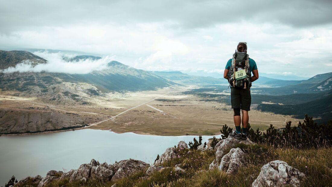 Fernwander-Veranstaltungsreihe in ganz Europa; Highlander