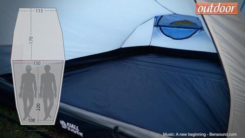 Fjällräven Abisko Lightweight 3 Zelt im Test