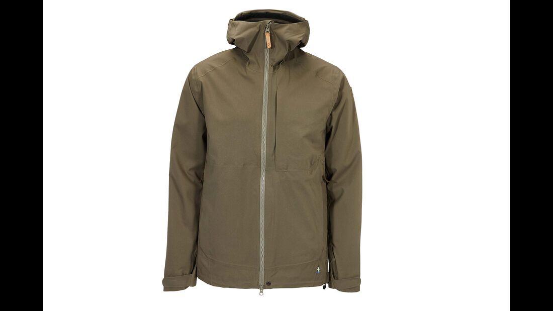 Fjaellraeven outdoor abisko ecoshell jacket nachhaltig funktionsjacke
