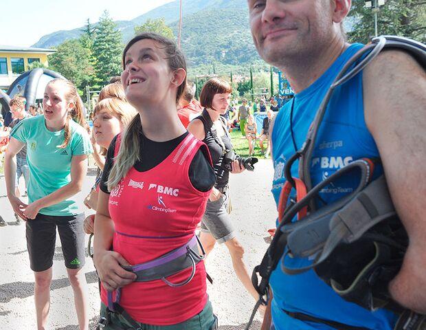Fotos vom Rock Master Arco 2014: Paraclimbing Cup 5
