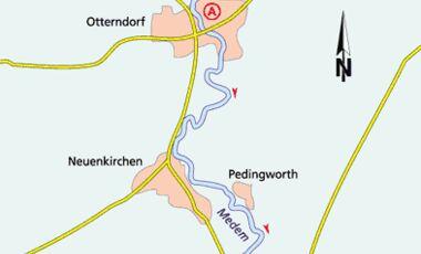 Friesland Tour 2 Karte