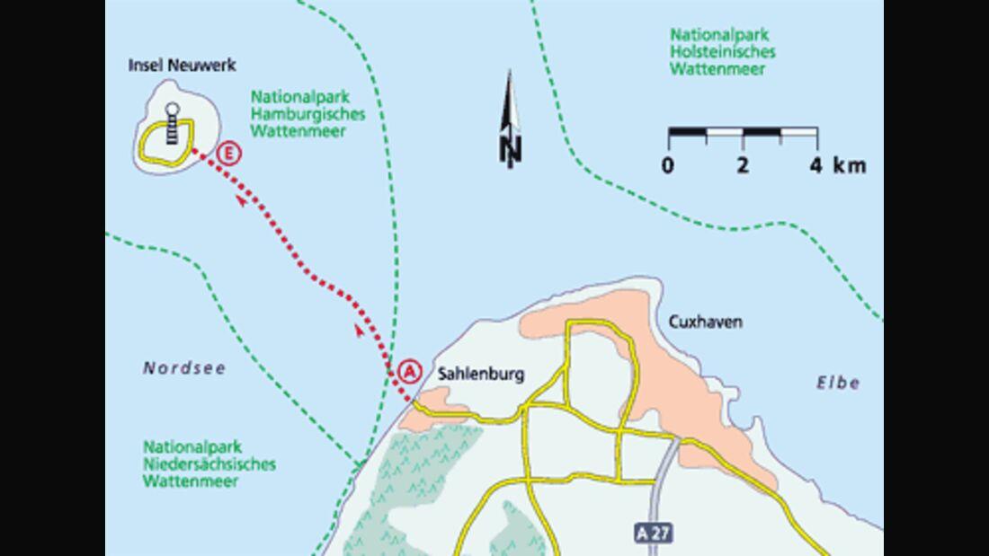 Friesland Tour 4 Karte