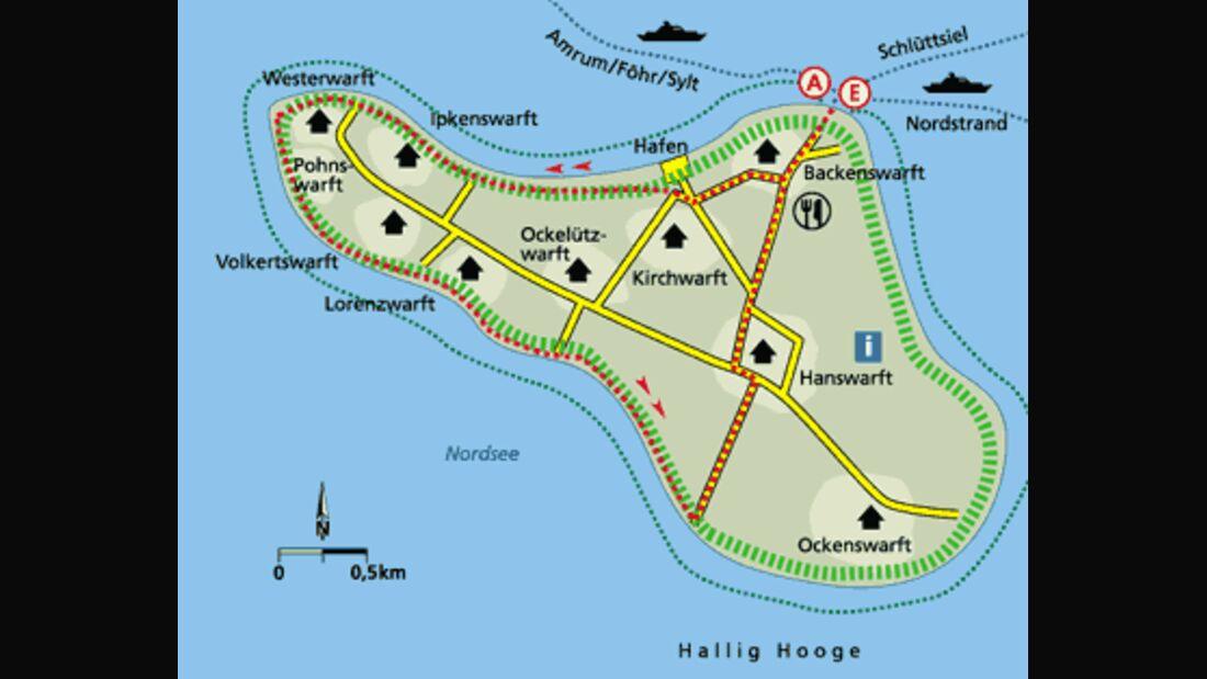 Friesland Tour2 Karte