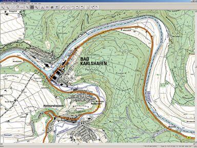 GPS Karte
