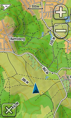 GPS Kartenseite